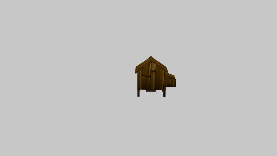 鸡屋(1) royalty-free 3d model - Preview no. 3
