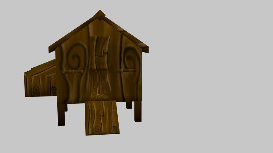 鸡屋(1) royalty-free 3d model - Preview no. 1