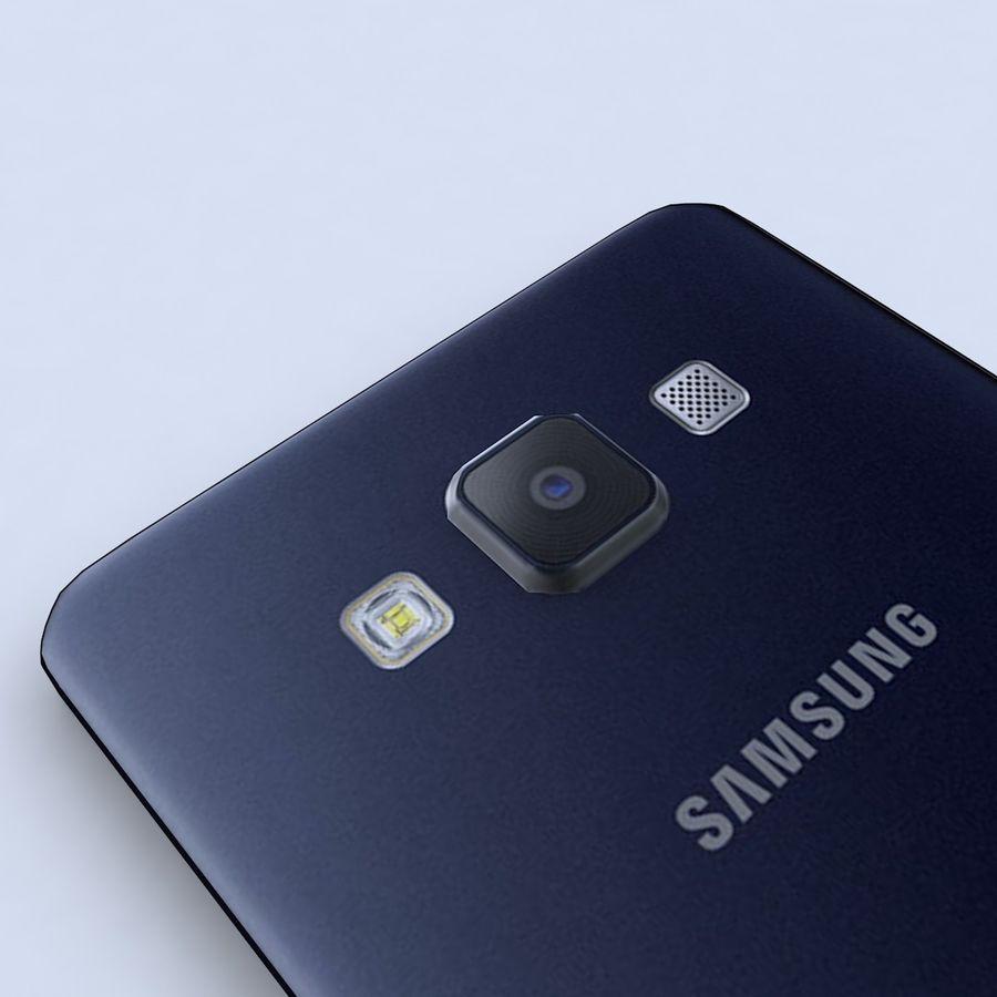 Samsung Galaxy A5 Preto royalty-free 3d model - Preview no. 5