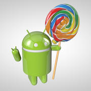 Android Lolipop Alt 3d model