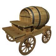 啤酒桶 3d model