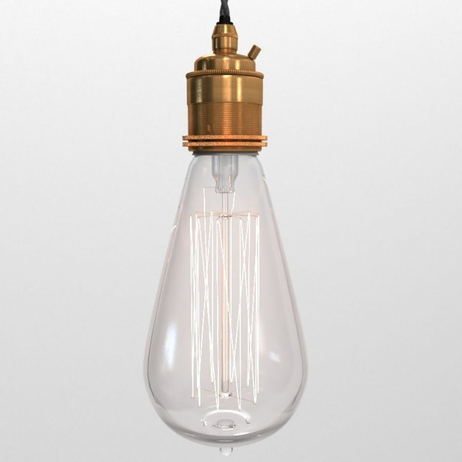 Lampa vintage 02 royalty-free 3d model - Preview no. 1