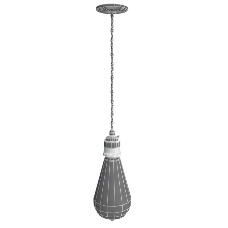 Lampa vintage 02 royalty-free 3d model - Preview no. 9