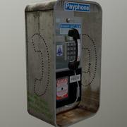 Payphone 3d model