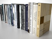 Books Group #2 3d model