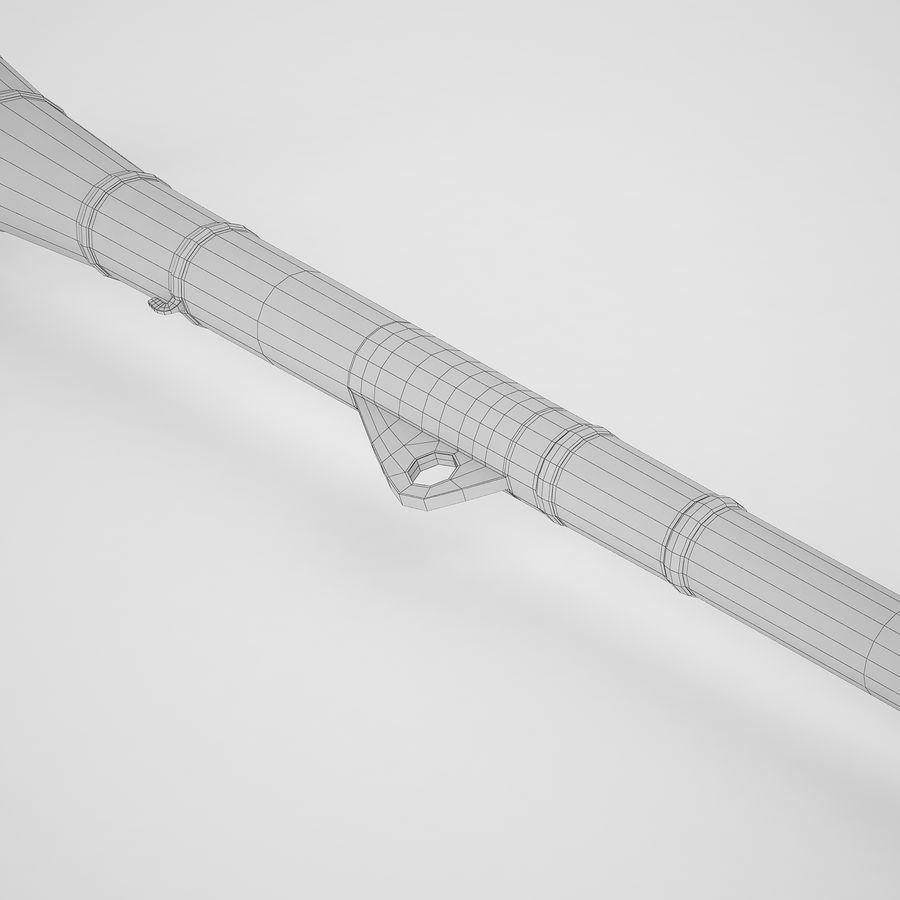 ブブゼラ01 royalty-free 3d model - Preview no. 10