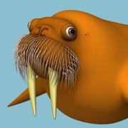 바다 코끼리 3d model
