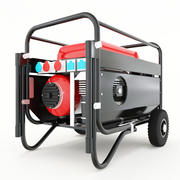 generador modelo 3d