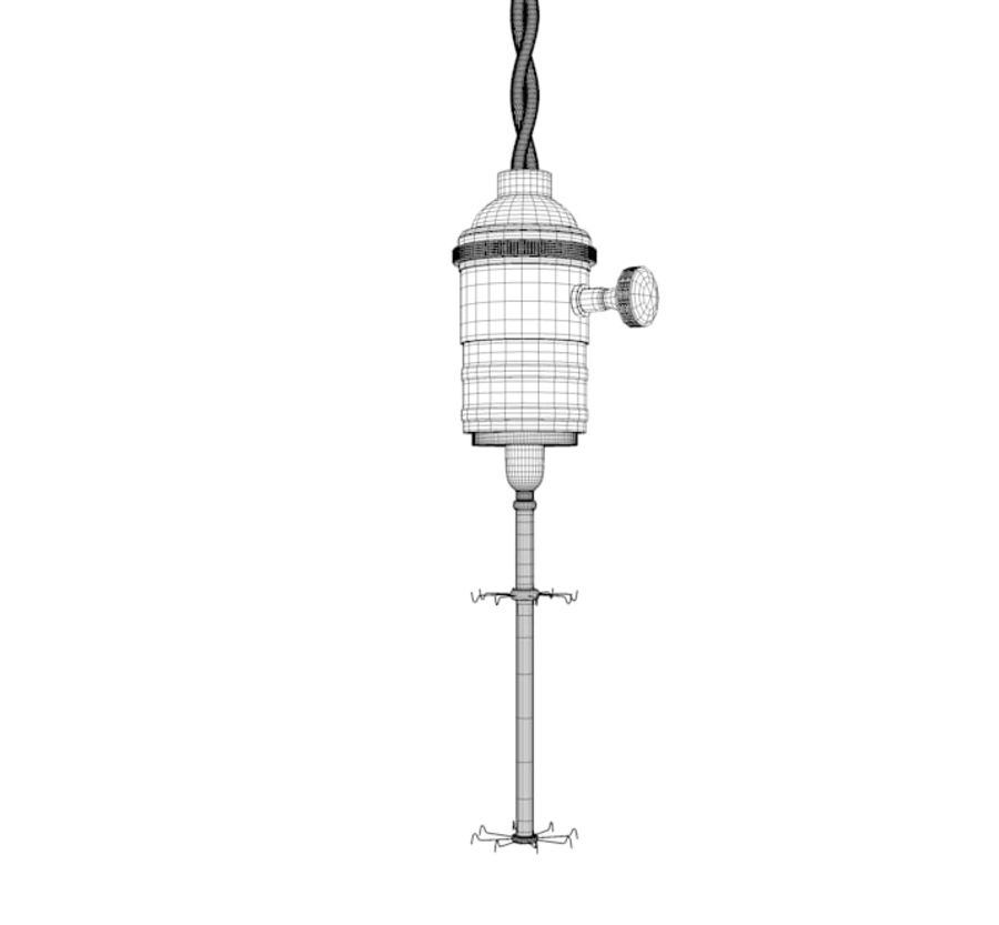 Bombilla Edison royalty-free modelo 3d - Preview no. 10