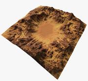Terreno desertico 3d model