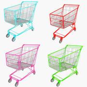 Carrinho de compras 3d model