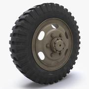 weel tire(1) 3d model