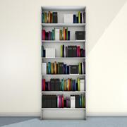 本の本棚 3d model