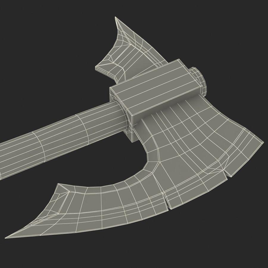 Battle Axe Modèle 3D royalty-free 3d model - Preview no. 25