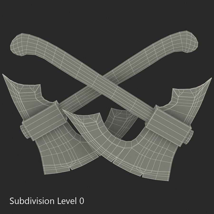 Battle Axe Modèle 3D royalty-free 3d model - Preview no. 14