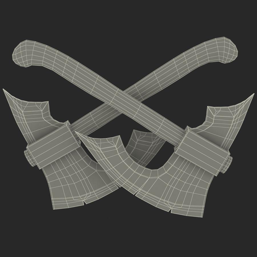 Battle Axe Modèle 3D royalty-free 3d model - Preview no. 21