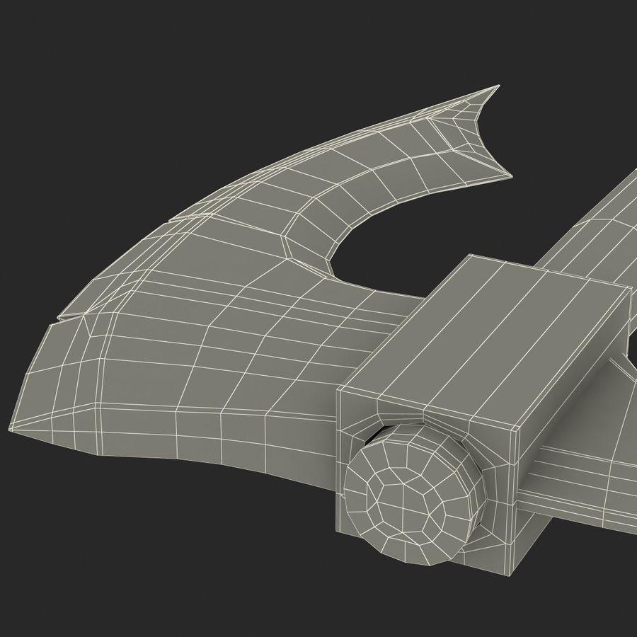 Battle Axe Modèle 3D royalty-free 3d model - Preview no. 26