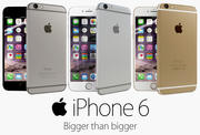 Apple iPhone 6 Collection 3d model