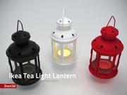 茶灯 3d model