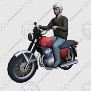 모토 사이클 3d model