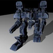 飞龙战斗机器人 3d model