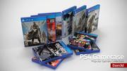PS4ゲームケースコレクション 3d model