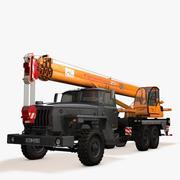 Crane URAL 3d model