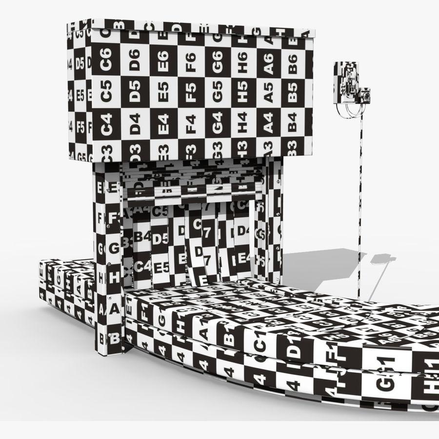 Karuzela lotniskowa royalty-free 3d model - Preview no. 4