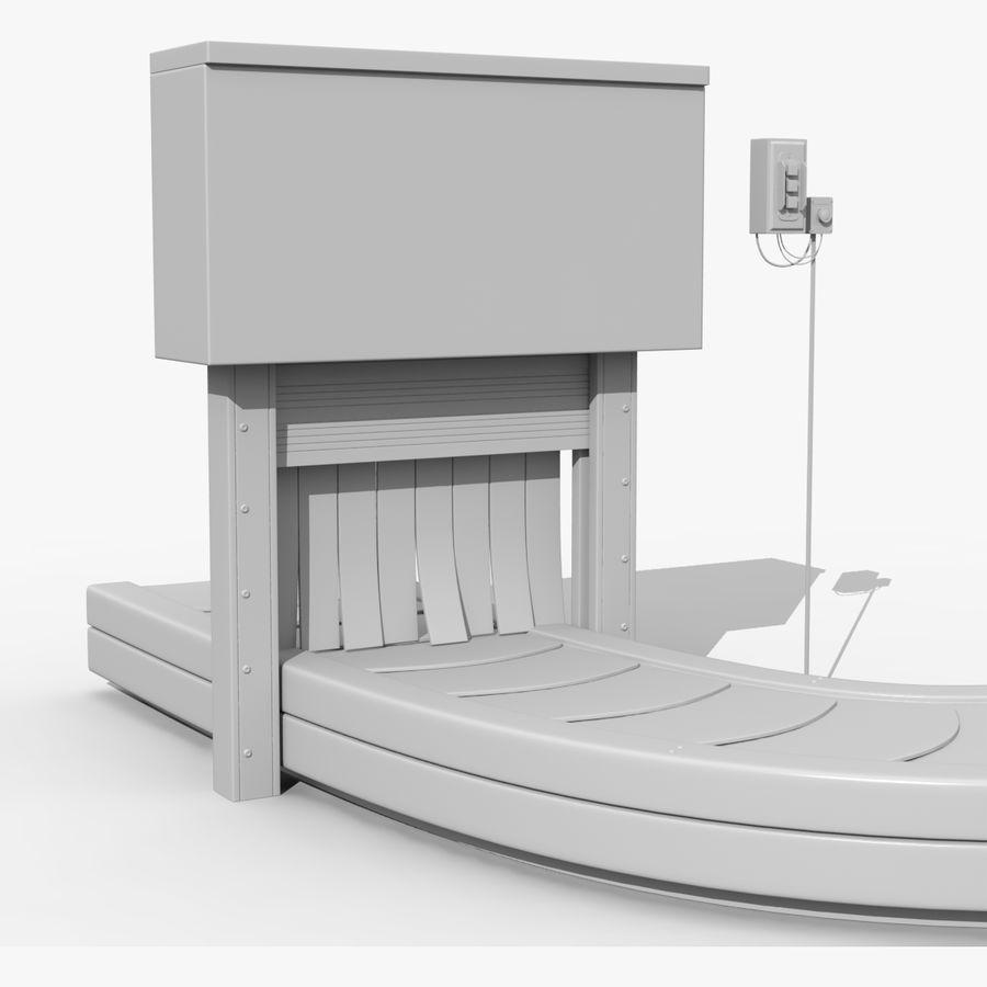 Karuzela lotniskowa royalty-free 3d model - Preview no. 5