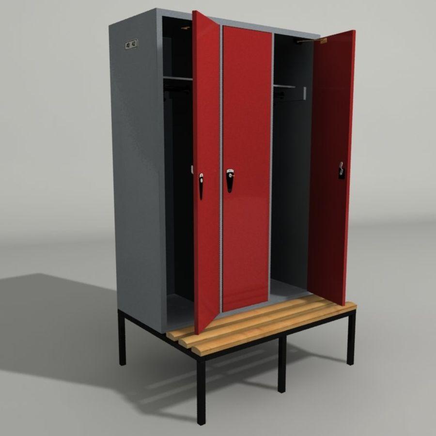 Cacifos para academia royalty-free 3d model - Preview no. 1
