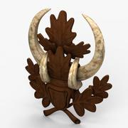 Horns Ornament 2 3d model