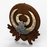 Horns Ornament 3 3d model