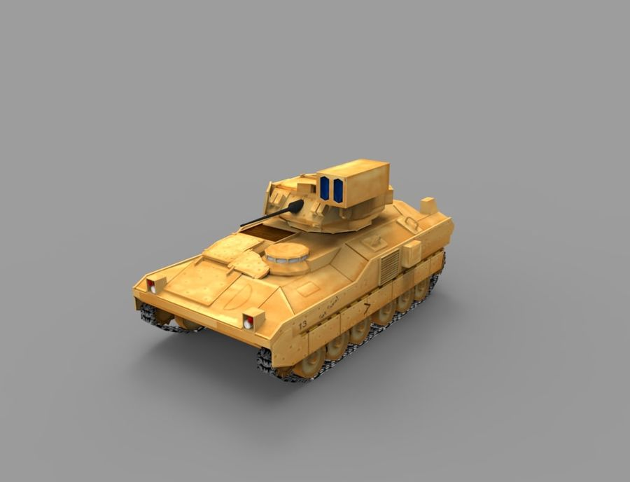 Military Vehicle Set royalty-free 3d model - Preview no. 3