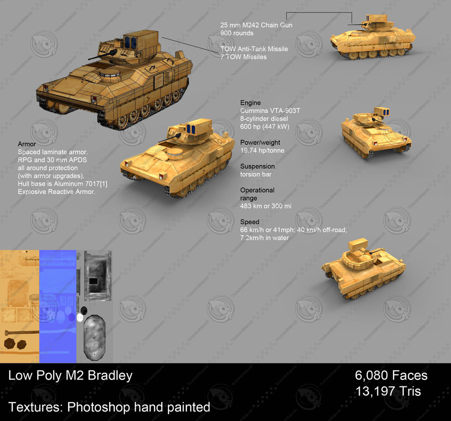 Military Vehicle Set royalty-free 3d model - Preview no. 5