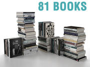 Books Collection #1 3d model