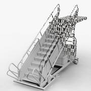 Schody Pokładowe 3d model