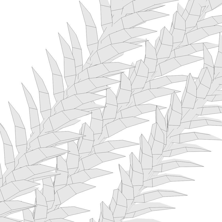 Aquatic Plant1 royalty-free 3d model - Preview no. 5