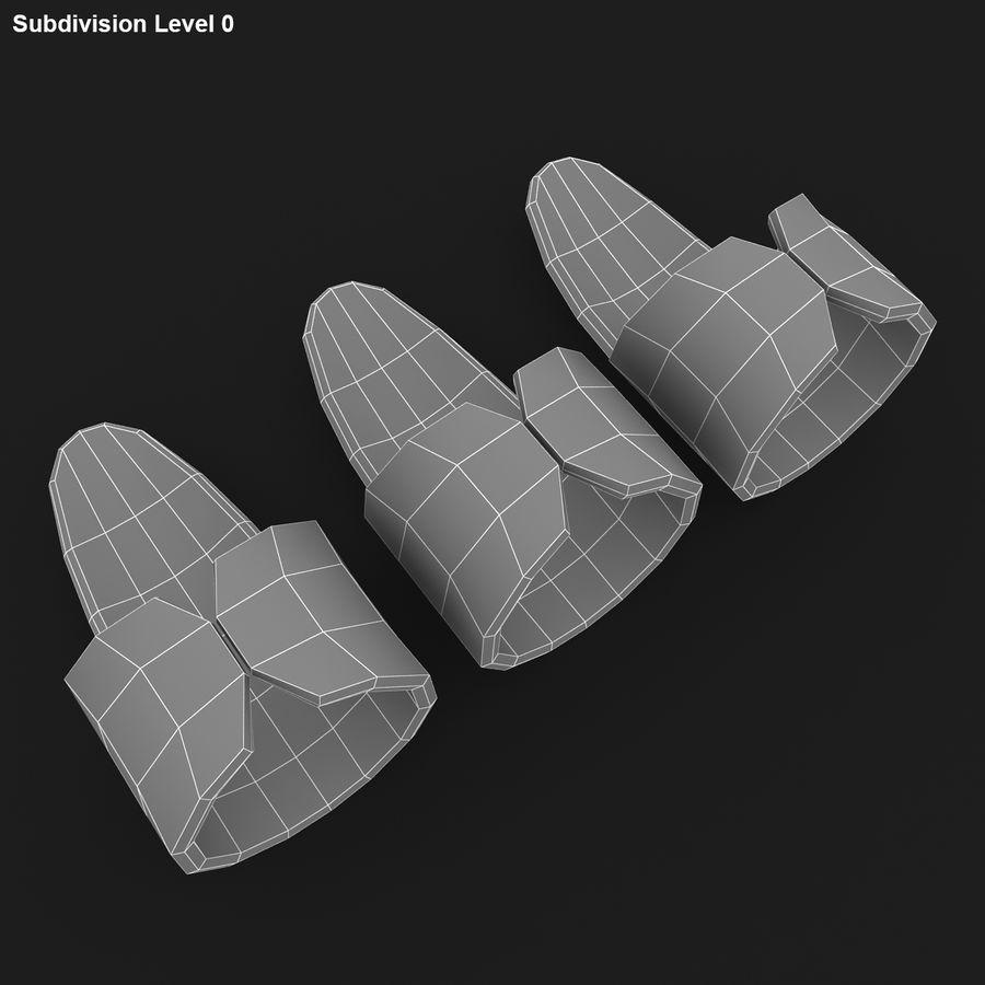 Finger Pick royalty-free 3d model - Preview no. 18