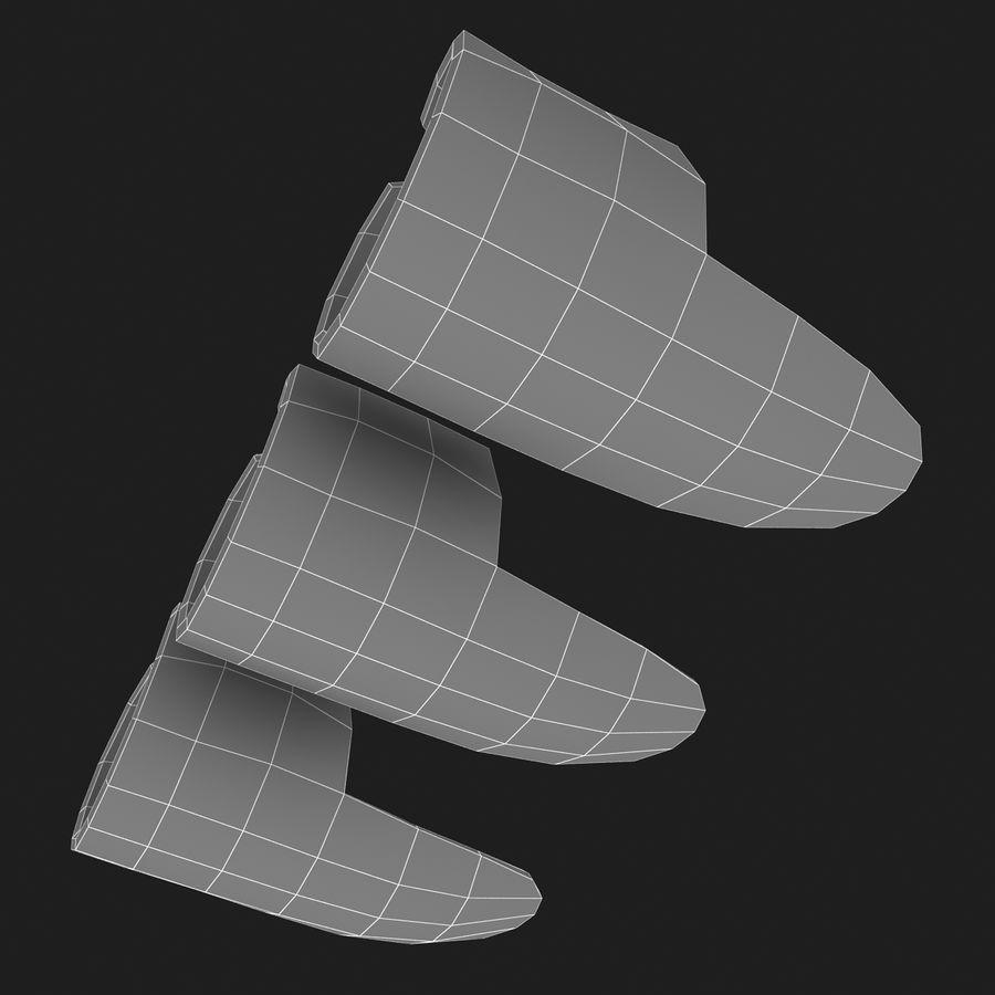 Finger Pick royalty-free 3d model - Preview no. 13