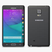 Samsung Galaxy Note Edge Black 3d model