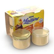 Cream Caramel 3d model