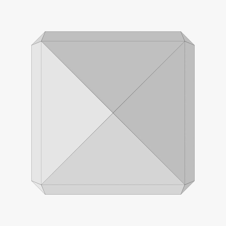 Wieża zegarowa trzy z teksturowanym wnętrzem royalty-free 3d model - Preview no. 23