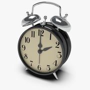 Twin Bell Alarm Clock 3d model