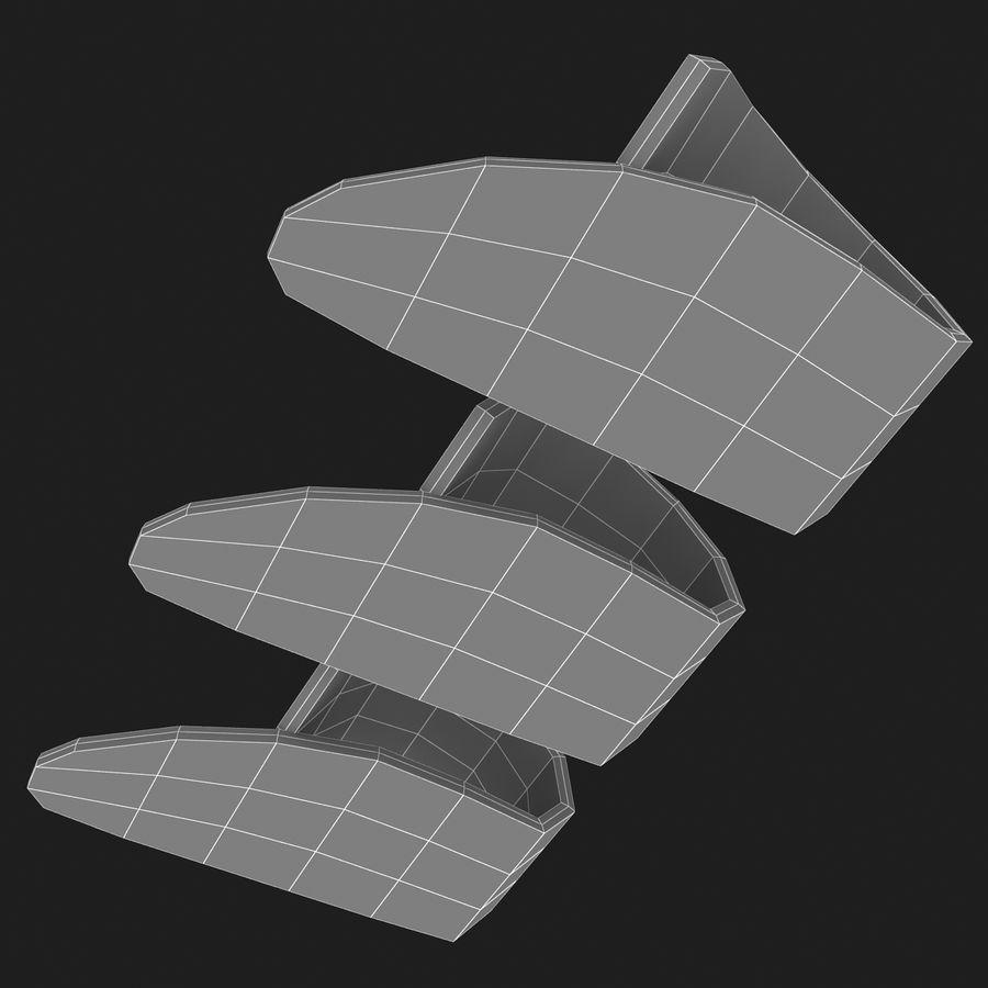 Thumb Pick royalty-free 3d model - Preview no. 13