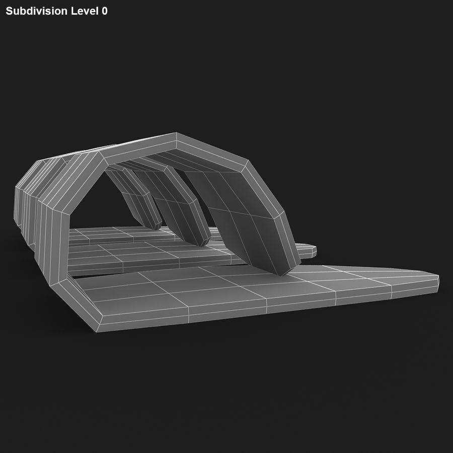 Thumb Pick royalty-free 3d model - Preview no. 15