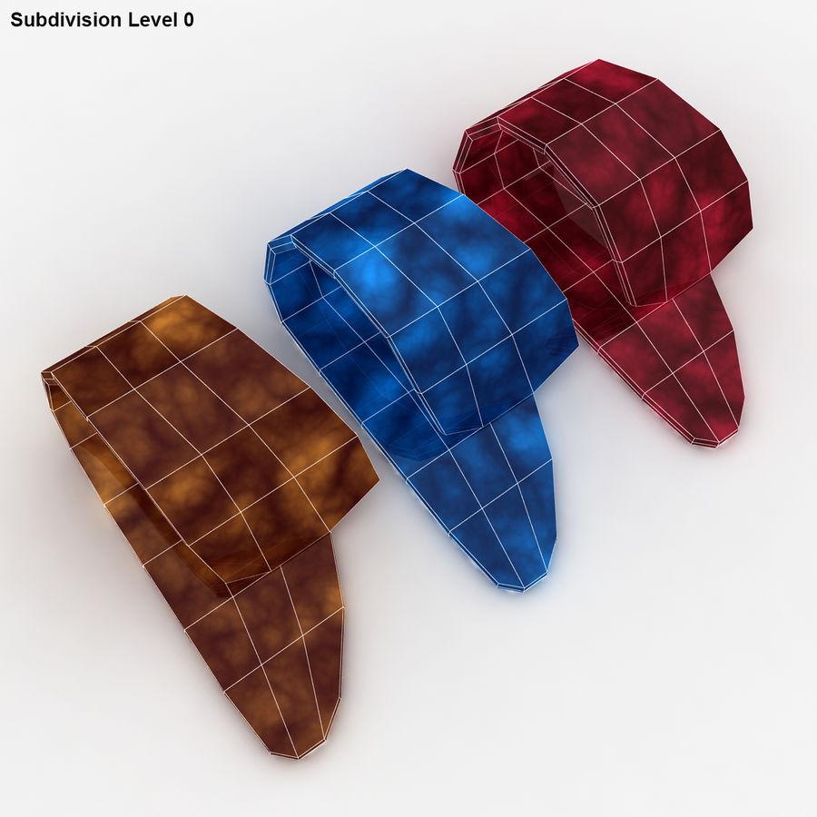 Thumb Pick royalty-free 3d model - Preview no. 17
