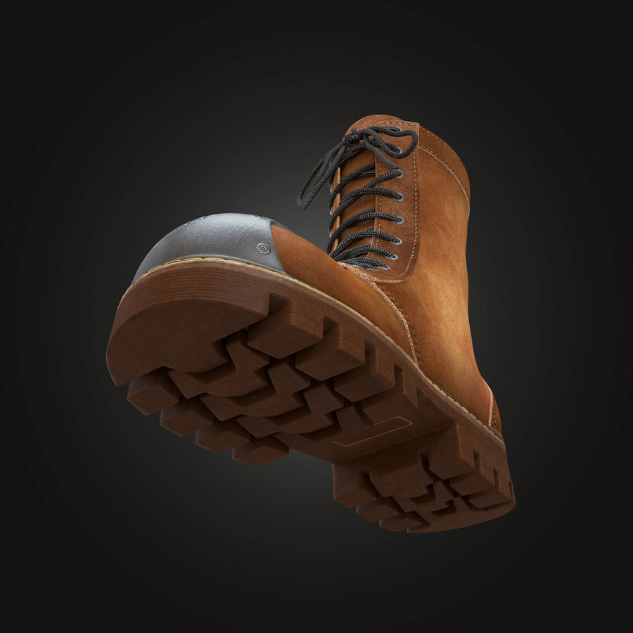 Military Boots Eagle royalty-free 3d model - Preview no. 9