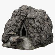 Вход в пещеру 4 3d model