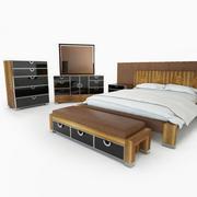 Exiterra Mobília do quarto 3d model