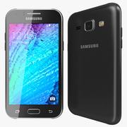 Samsung Galaxy J1 Preto 3d model